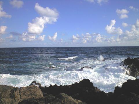 20101010の山陰の海