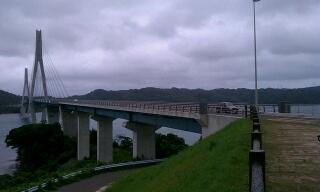 肥前鷹島大橋でいきなり長崎